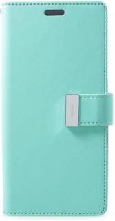 Mercury GOOSPERY Rich Diary till Samsung Galaxy S9 Plus - Cyan - Mercury