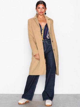 NLY Trend Everyday Coat Kappor Beige