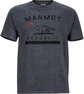 Marmot - Marmot Republic Herr utomhus skjorta (mörkgrå) - M