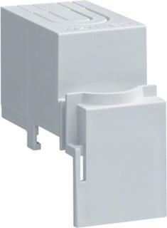 Terminaldeksel 1 modul Hager