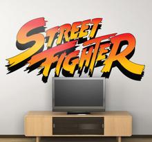 Street Fighter Logo Aufkleber