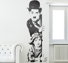 Wandtattoo Charlie Chaplin Rampenlicht