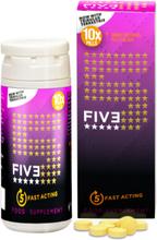 FIVE Instant Erektionshjälp - 10 tabs