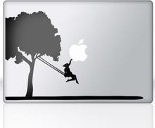 Sticker laptop boom schommel