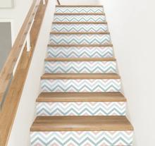 Huis trap sticker abstracte patroon