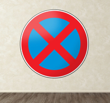 Parken verboten Aufkleber