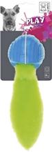 Hundleksak M-Pets Foxball, Blå/grön