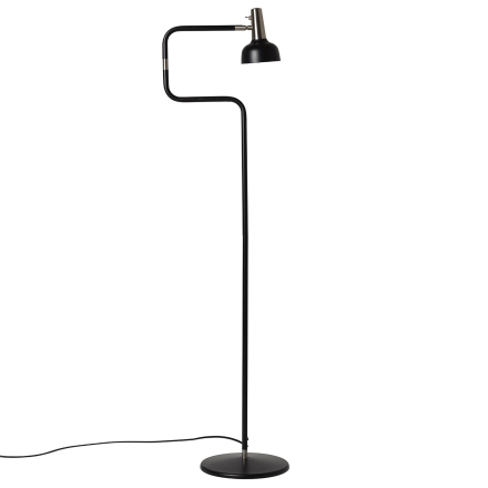 Co Bankeryd - Ray Gulvlampe LED, Sort/ Nikkel