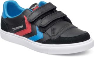 Hummel Stadil Jr Leather Low Sneakers Sko Svart HUMMEL