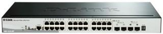 Kontakt til netværket med kontaktskab D-Link DGS-1510-28P 28 Puertos RJ45 92 Gbit/s SFP