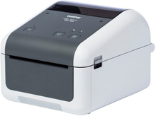 Termisk printer Brother TD4420DN 203 dpi LAN USB 2.0 Grå Hvid