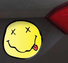 Sticker gezicht Nirvana