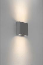 Elis Væglampe H14,1 cm 1 x LED 7,7W IP54 - Grå