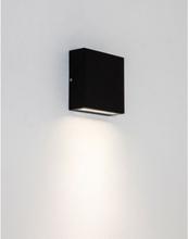Elis Væglampe H14,1 cm 1 x LED 4,4W IP54 - Sort