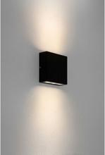 Elis Væglampe H14,1 cm 1 x LED 7,7W IP54 - Sort