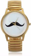 Armbanduhr mit Schnurrbart