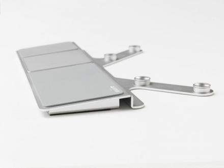 Touchpad Jobmate Touch sølv ergonomisk