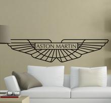 Wandtattoo Logo Aston Martin