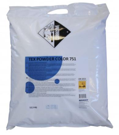 Vaskepulver Tex Powder 751 color t/tøjvask 12,5kg 31162