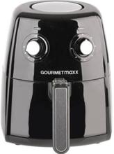 GourmetMaxx 07026 Varmlufts/-frituregryde 1500 W Sort, Sølv