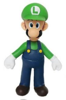 Actionfigur Super Mario Bros - Luigi (23cm)