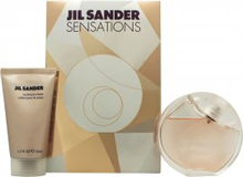 Jil Sander Sensations Presentset 40ml EDT Spray + 50ml Cashmere Cream