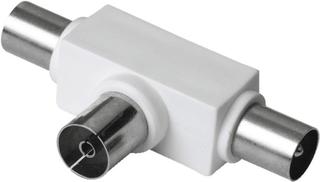 Hama antenne-fordeler koaksial kobling - 2 koax-stik Antenne Hama