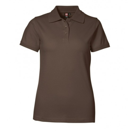 ID klassisk dame polo shirt i stretch