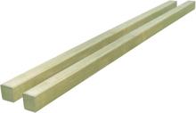vidaXL Staketstolpar 2 st impregnerad furu 7x7x150 cm