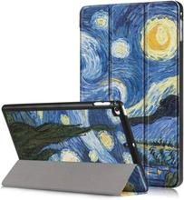 iPad Mini (2019) tri-fold pattern leather case - Starry Sky