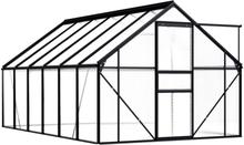 Drivhus antrasitt 190x370 - 7,03 m²