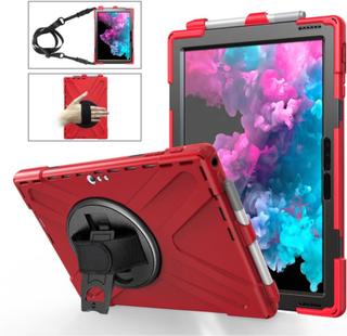 Microsoft Surface Pro 6 X-Shape combo case - Red