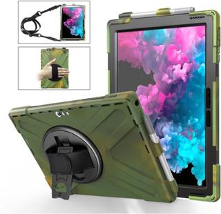 Microsoft Surface Pro 6 X-Shape combo case - Army Green