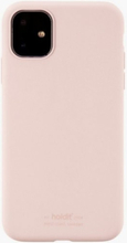 Holdit Silicone Case iPhone 11 Rosa