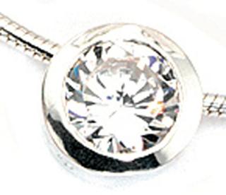 JG Hänge 925 /-s hänge silver cubic zirconia hänge 925 sterlingsilver