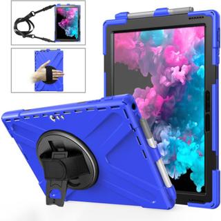 Microsoft Surface Pro 6 X-Shape combo case - Blue