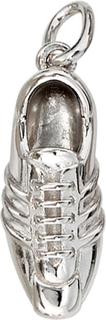 Hänge 925 /-s fotboll boot hänge fotboll sko hänge silver