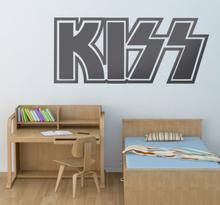 Sticker logo Kiss