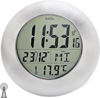 AMS 5929 vägg klocka bord klockan badrum klockradio digital vattent...