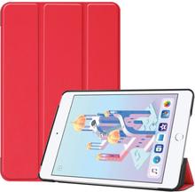 iPad Mini (2019) tri-fold leather case - Red