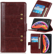 Crazy Horse Huawei Y6 2019 leather case - Brown