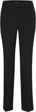 Pants Classic 1/1 Length Bukser Med Rette Ben Svart Betty Barclay