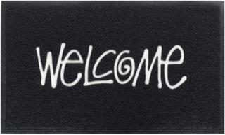 Stussy - Pvc Welcome Mat - Svart - ONE SIZE