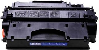 Canon CRG120/ 720 (Canon 2617B002) Lasertoner, Sort, Kompatibel, 5000 sider