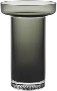 Kosta Boda Limelight Rökgråvas 23 cm