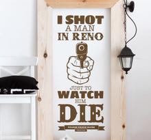 Sticker folsom prison Johnny Cash