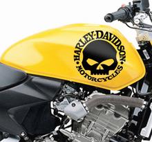 Aufkleber Harley Davidson Motorrad