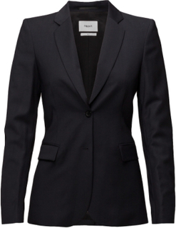 Eve Cool Wool Jacket Blazer Jakke Sort Filippa K
