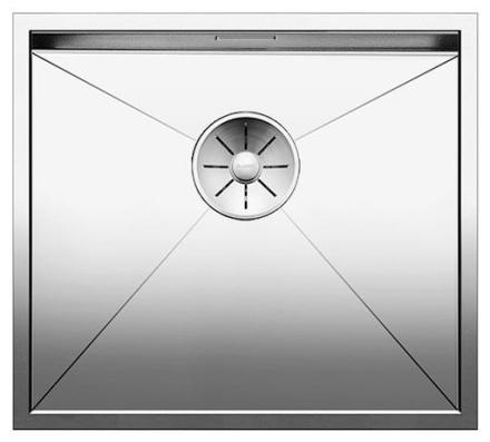 Blanco Zerox 450-IF/N UXI Køkkenvask 49x44 cm m/InFino kurveventil, Rustfrit stål
