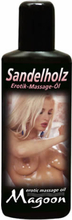 Massageolie Sandeltræ - 100 ml